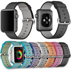 Sports Royal Woven Nylon Wrist Band Strap For Apple Watch Series 1/2 38mm / 42mm