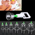 Effective Healthy 6/12 Cups Medical Vacuum Cupping Suction Therapy Device Set AA $2.3 CAD on eBay