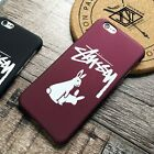 Fashionable Brand Stussy Logo Case for iPhone 55SSE66s Full Protection