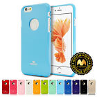 GOOSPERY® Pearl Jelly TPU Bumper Case Thin Slim Cover for Apple iPhone 6s 6 Plus