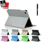 Magnetic Slim Leather Folio Stand Smart Case Cover for iPad Mini / Mini 2 Silver