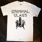 Criminal Class  - 'Fighting the System' T - Shirt (punk oi blitz cockney kbd)