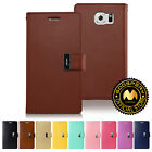 For Samsung Galaxy S6 GOOSPERY® Rich Diary PU Leather Tri-Fold Style Wallet Case