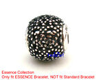ESSENCE Collection WELLNESS 925 Sterling Silver Fit European Charm Bracelet