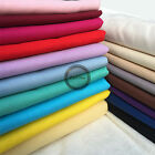 Plain Solid 100% Cotton Fabric Quilting Sewing Craft Patchwork Cloth BY The Yard for sale  Shipping to Canada