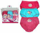 Girls Official My Little Pony Pack of 3 MLP Briefs Knickers Underwear 2-8 Years