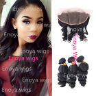 3 Bundles Brazilian Loose Wave with 13X4 Frontal Closure Ear to Ear Baby Hair