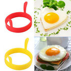 Funny 1 2PC Silicone Fried Fry Frier Oven Pancake Egg Ring Mould Mold