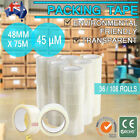 Carton Transparent Packaging Packing Postage Post Shipping Courier Tape Roll