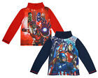 Boys Marvel Avengers Iron Man Thor Civil War Turtle Roll Neck Top 4 to 10 Years
