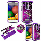 For Motorola Droid Turbo 2, X3 Diamond Protective TPU+PC Bling Shockproof Cover