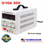 Digital DC Power Supply 30V 10A 5A Precision Variable Adjustable Lab Grade New