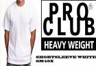 PRO CLUB HEAVYWEIGHT SHORT SLEEVE WHITE T-SHIRT SM-10X