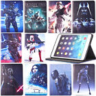 3D Star Wars Flip Leather Stand Smart Cover Case For iPad 5th Gen Mini Air Pro $11.44 CAD