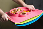 Silicone Baby Placemat Plate Silicone Fun Place Mat Plate Tray Self Suction