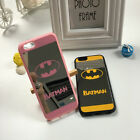 Fashion Batman Logo Soft Mirror Case Cover Skin Protecter For iPhone 6 6s plus