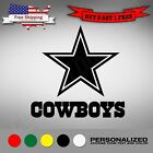 NFL Dallas Cowboys Premium Decal / Sticker Small Medium Large on eBay