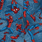 LICENSED DISNEY SPIDERMAN FLY SEWING CRAFT QUILT FABRIC Free Oz Post