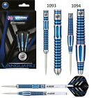 Winmau Vanguard 90% Tungsten Steel Tip Darts - Blue Titanium Nitride Coating