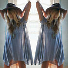 Women's Ladies Short Sleeve Summer Loose Casaul Top T-Shirt Blouse PLUS SIZE