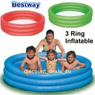 NEW Childrens Swimming Pool Inflatable 3 Ring Safe Kids Adult Swim Splash Pool