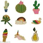 Unisex Jewelry Cute Enamel Cactus Ice Cream Funny Brooch Corsage Collar Pins
