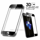 Genuine 3D Curved Tempered Glass Film Screen Protective for iPhone 5 C 6s 7 Plus
