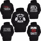 Beer Lover Hoodie Drunk Alcohol Funny Beer Joke Love Drinking Party I Love Beer