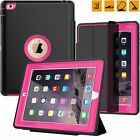 Shockproof Smart Magnetic Heavy Duty Flip Case Cover for Apple iPad Min&Air&Pro