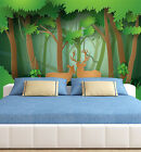 3D Lush Forest Animals 57 Paper Wall Print Wall Decal Wall Deco Indoor Murals
