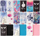 NEW Cartoon Flower Leather slot wallet pouch case skin cover For Elephone 8 #5