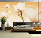 3D White Flowers Pattern 21 Paper Wall Print Wall Decal Wall Deco Indoor Murals