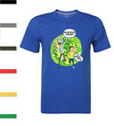 Rick And Morty T-Shirt Ideal Birthday Gift Casual Short Sleeve Mens Tee S-2XL