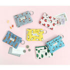 Jam Jam Key Ring Card Case - Livework - Zipper Credit Card Wallet / Coin Purse