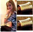 Fashion Jewellery Gold Colour Cuff  Bracelet