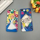 Alice Relief Soft Tpu Rubber Antishock Case Cover For iphone 6/6S plus /7 7PLUS