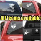 NHL Hockey Vinyl DECAL Car Truck  Window STICKER Graphic Teams Logos $4.24 USD on eBay