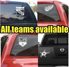 NHL Hockey Vinyl DECAL Car Truck  Window STICKER Graphic Teams Logos $4.59 USD on eBay