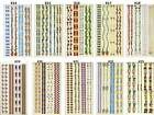 Sandylion Tina Ledbetter BORDERS Scrapbooking Stickers - RaRe - K14-23