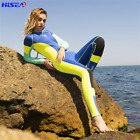 Womens Steamer Wetsuit Surf Long Sleeve &Leg 3MM Neoprene Wet Suits Fullsuit