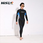 Mens 3mm Neoprene Steamer Wetsuit Surf One Piece Long Sleeve &Leg Wet Suit