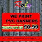 2.5ft x 5.5ft £9.99PVC VINYL BANNERS PRINTED OUTDOOR SIGN DISPLAY STRONG BANNER