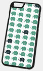 NEW CUTE CHEEKY ELEPHANT ART PATTERN PHONE CASE FITS ALL  IPHONE MODELS FREE P&P