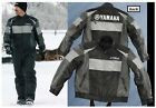 NEW NONCURRENT YAMAHA GLACIER BASIN LEATHER SNOWMOBILE JACKET BLACK SMB-09JTD-BK