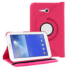 Premium Case Cover Skin Armor Hybrid Leather For Samsung Galaxy Tab E 3 7.0 Lite