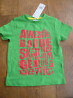 AWESOME DUDE SKATE BOARD GENIUS BRIGHT GREEN SHORT SLEEVED T SHIRT TOP 1 2 3 4 Y