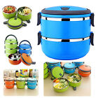 4-Layer Travel Lunch Box Meal Picnic Bento Food Container Storage Case LJ