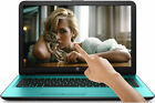 "NEW! 2TB HP 15.6"" TouchScreen Laptop 2.40GHz QuadCore DVD+RW WebCam Windows 10"