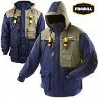 Frabill I4 Series Ice Fishing Suit Jacket Only Choose Size S - 2XL - Color Blue