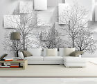 3D Bare Trees Patterns 74 Paper Wall Print Wall Decal Wall Deco Indoor Murals